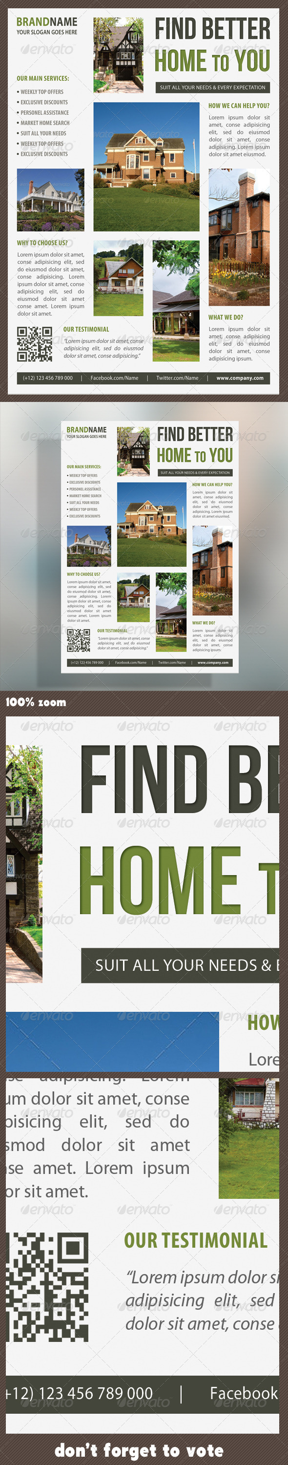 Real Estate Corporate Flyer 09 - Commerce Flyers
