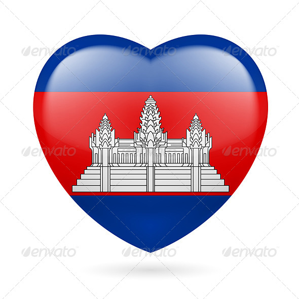 Heart Icon of Cambodia