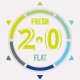 Fresh-Flat 2.0 - GraphicRiver Item for Sale