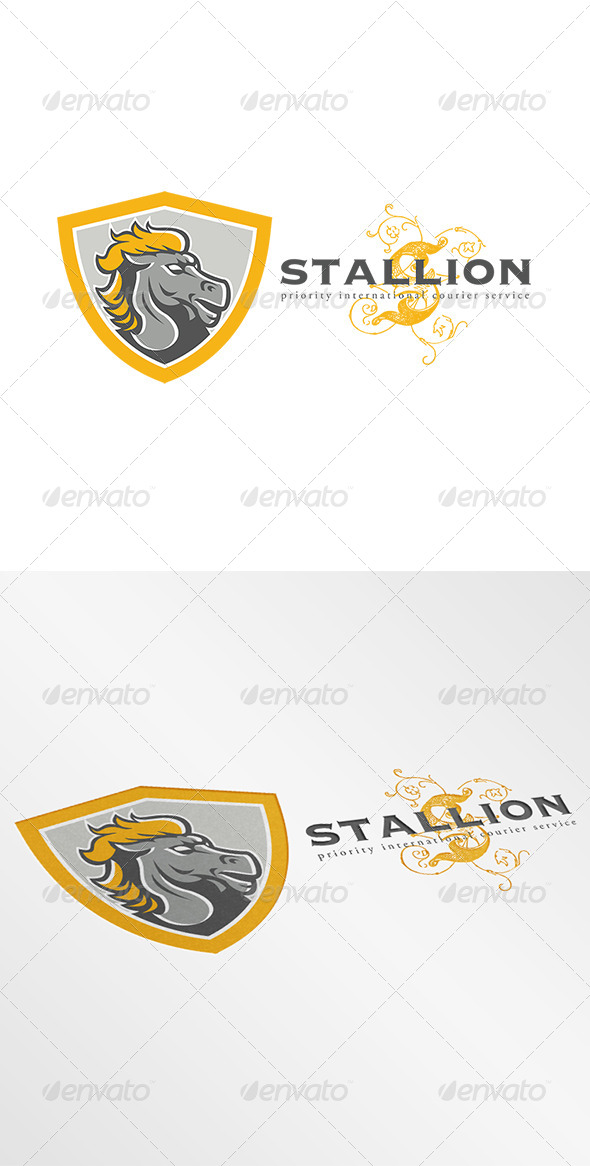 Stallion Courier Services Logo