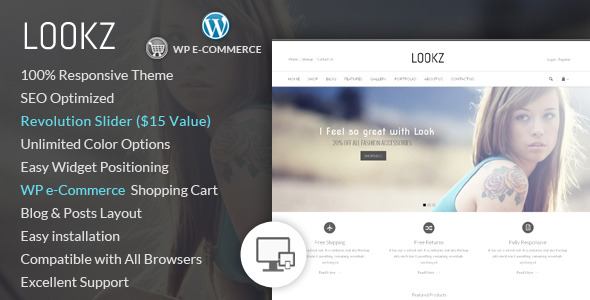 Lookz - Wordpress eCommerce Theme