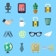 Business Flat Icons Set - GraphicRiver Item for Sale