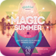 Magic Summer Flyer - GraphicRiver Item for Sale
