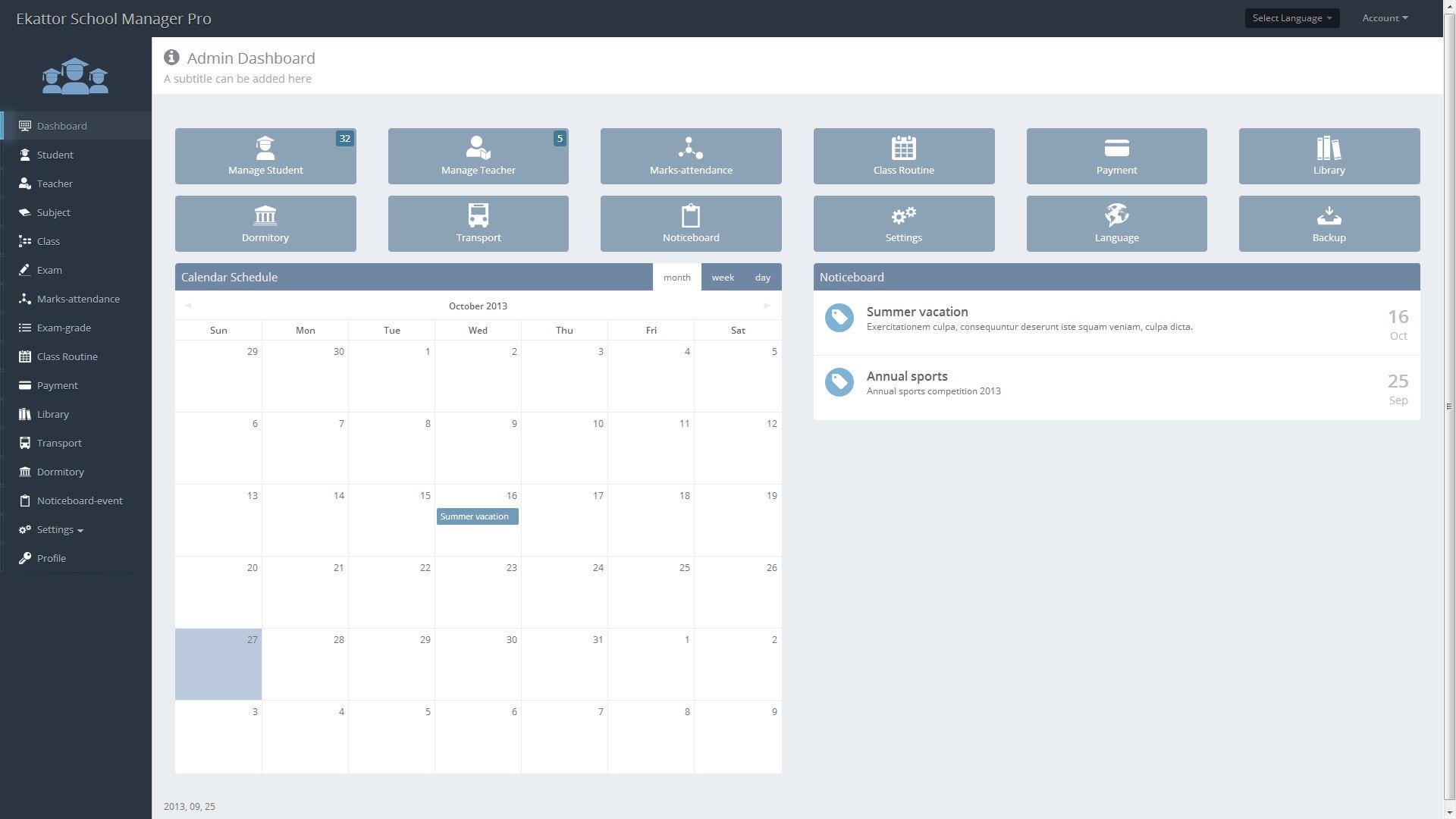 Ekattor School Management System Pro 3.0 | [Infoclub.PRO]
