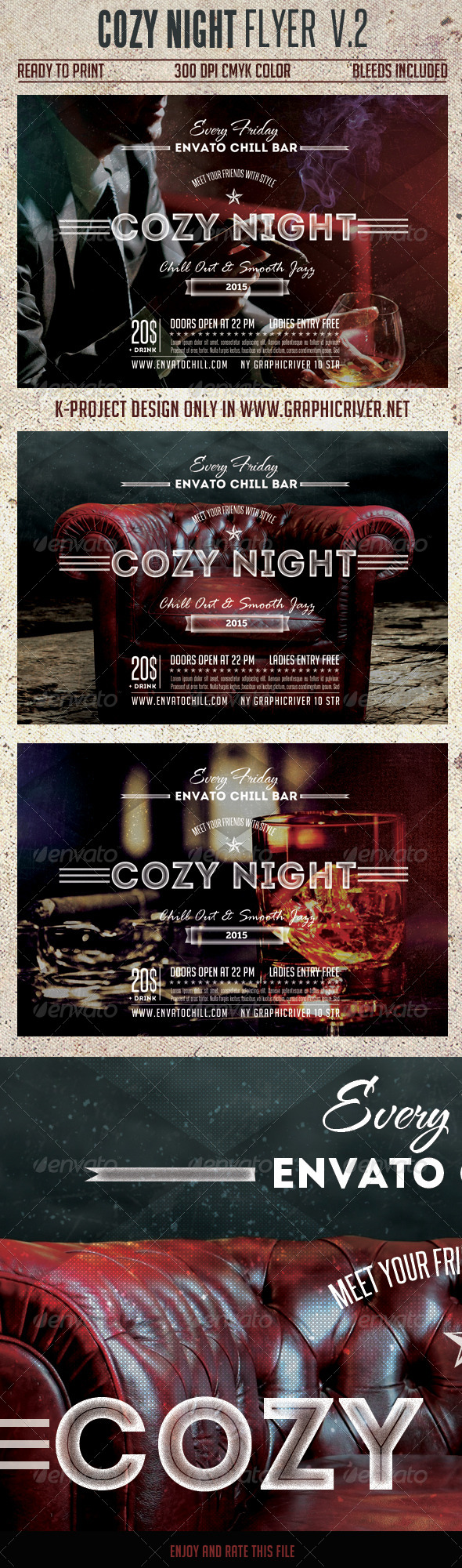 Cozy Night Flyer Vol.2