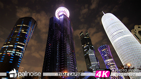 LED Skyscrapers