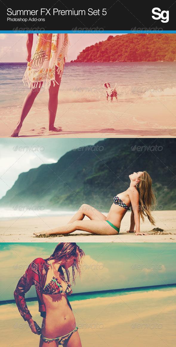 Summer FX Premium Set 5 - Photo Effects Actions