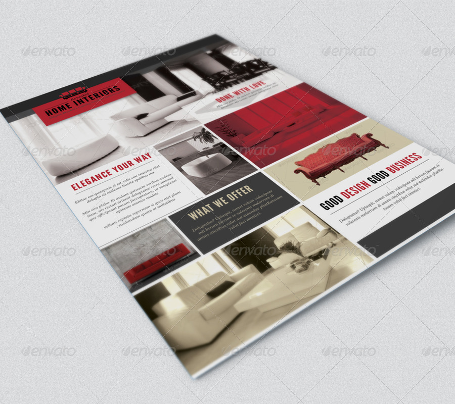 Interior Design Flyer By Sz81