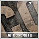 12 Concrete Styles Vol.1 - GraphicRiver Item for Sale