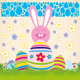 Vector Easter Card - GraphicRiver Item for Sale