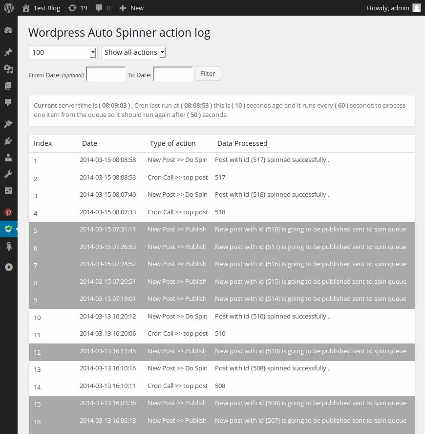 item wordpress auto spinner articles rewriter