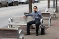 Hispanic Businessman - Chatting on cell phone - PhotoDune Item for Sale