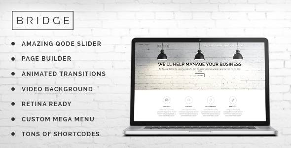 Bridge - Creative Multi-Purpose WordPress Theme - Creative WordPress