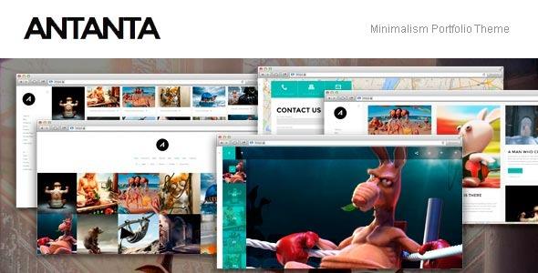 Antanta - Minimalism Portfolio