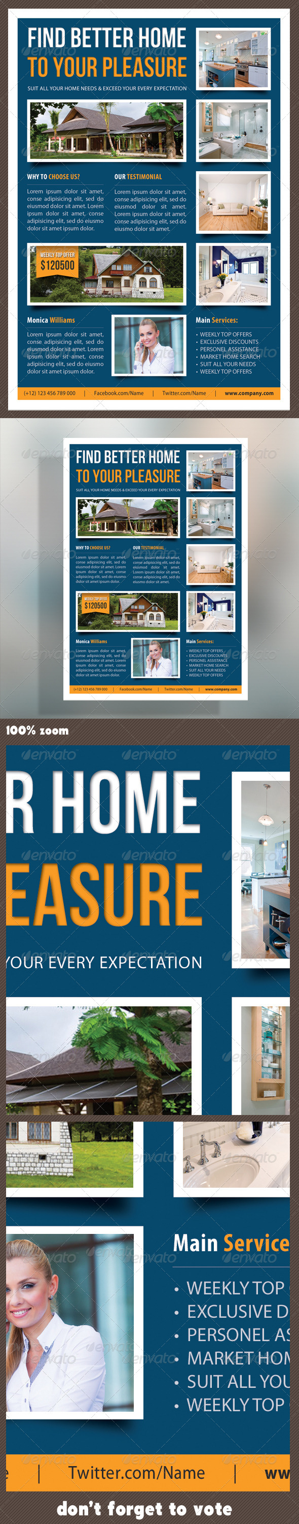 Real Estate Corporate Flyer 10 - Commerce Flyers