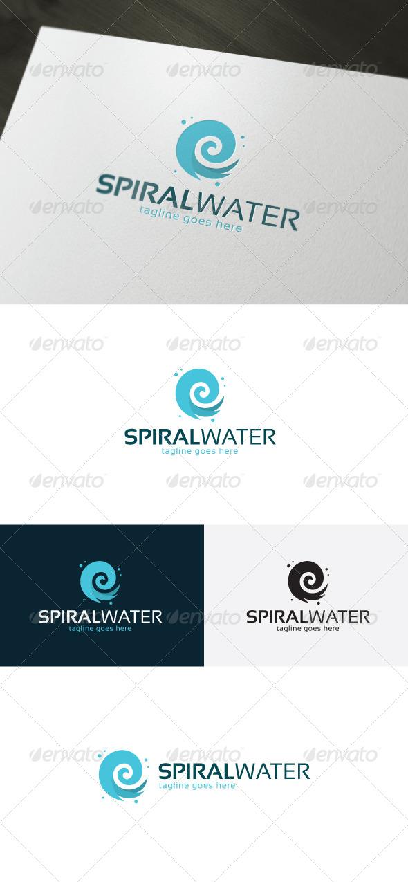 Spiral Water Logo