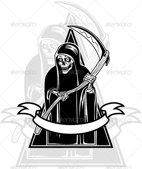 Grim Reaper Badge