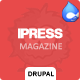 iPress - Responsive News/Magazine Drupal theme - ThemeForest Item for Sale