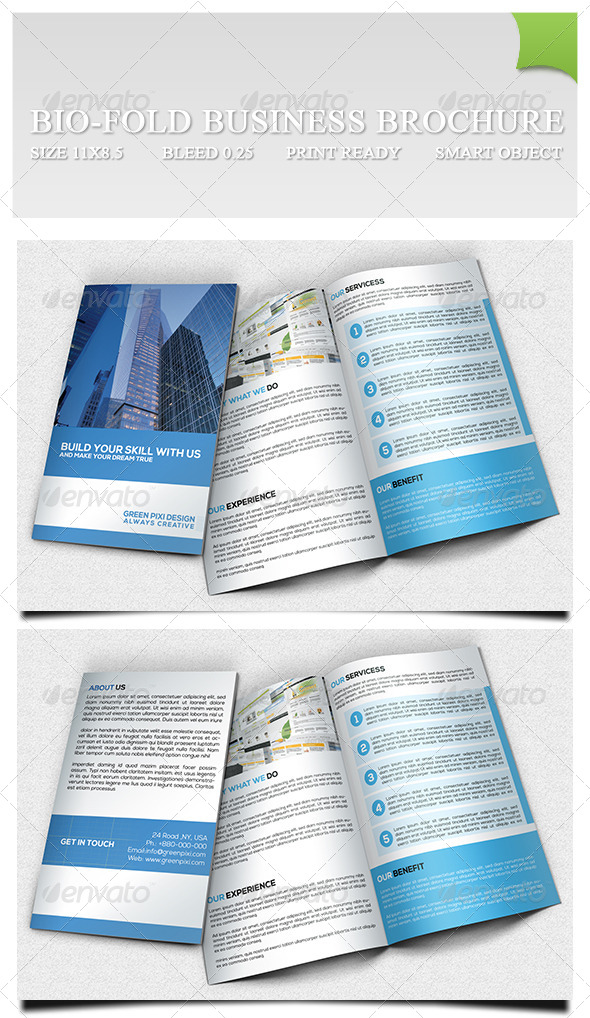 Bio-fold Business Brochure