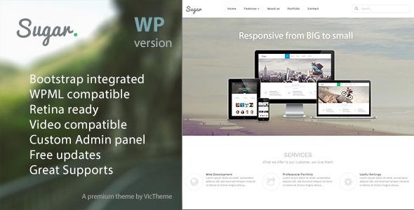 Sugar - Business Responsive WordPress Theme
