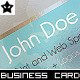 Transparent Print and Web Specialist Business Card - GraphicRiver Item for Sale