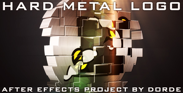 After Effects Project - VideoHive Hard Metal Logo 759755
