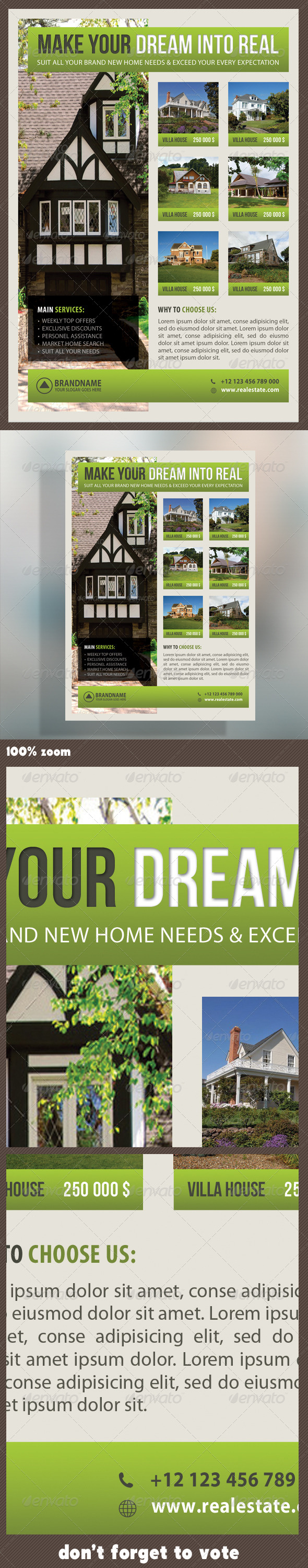 Real Estate Corporate Flyer 12 - Commerce Flyers