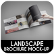 Landscape Brochure Mock-Up - GraphicRiver Item for Sale