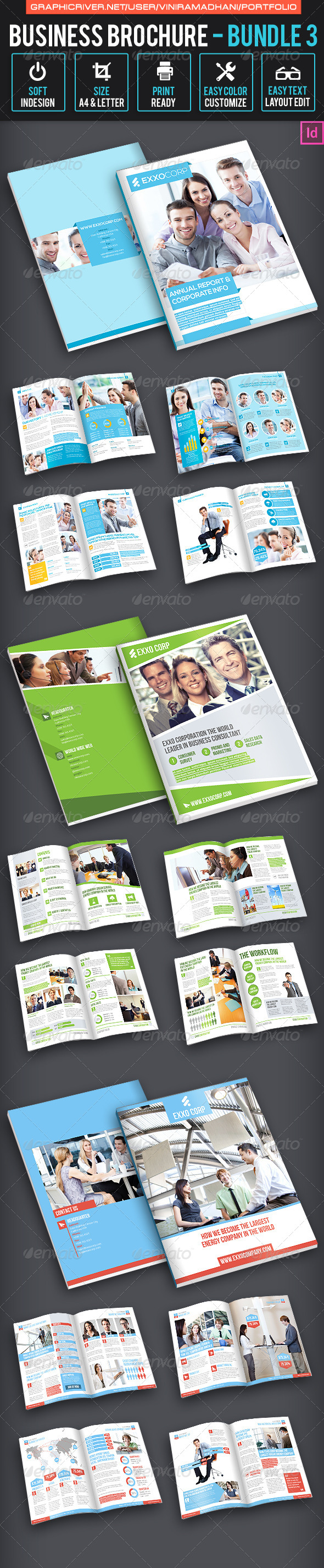 Business Brochure bundle 3