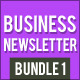 Business Newsletter Bundle 1 - GraphicRiver Item for Sale