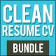 Simple Resume CV Bundle