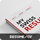 Swiss Resume+ - GraphicRiver Item for Sale