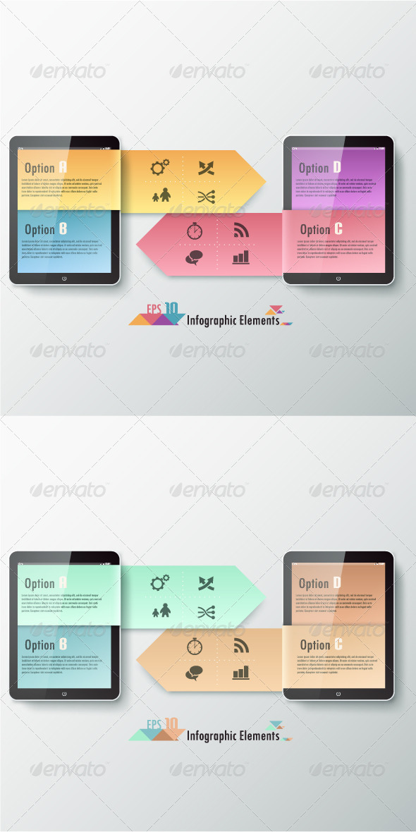 GraphicRiver Modern Infographic Options Banner Two Versions 7326323