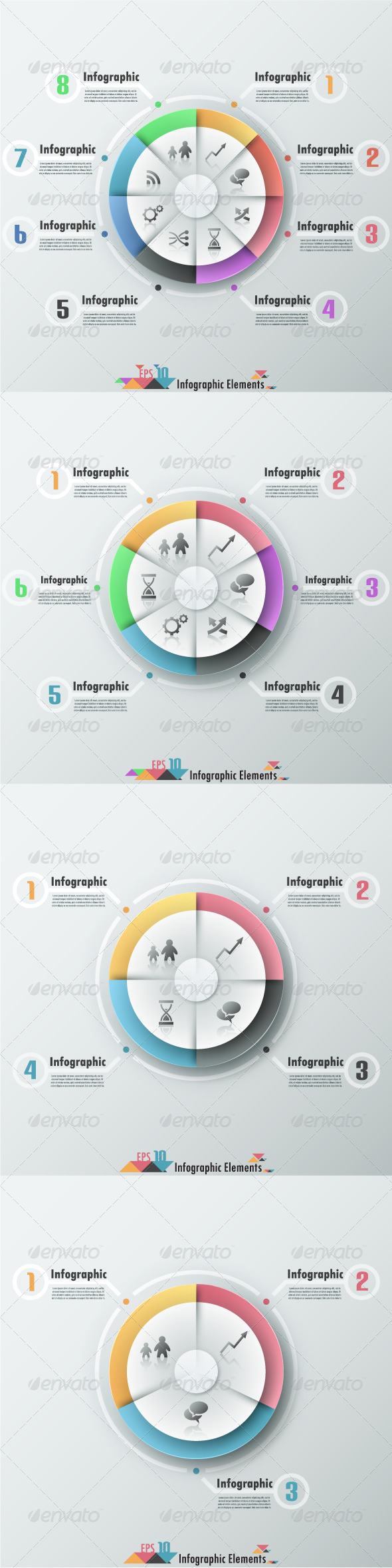 GraphicRiver Modern Infographic Banner With Pie Chart 7326344