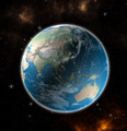 View on the Earth from space showing Asia and Australia - Elements of this image furnished by NASA - PhotoDune Item for Sale