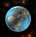 View on the Earth from space showing Europe and Africa - Elements of this image furnished by NASA - PhotoDune Item for Sale