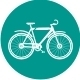 Modern Icons Bicycle Flat - GraphicRiver Item for Sale