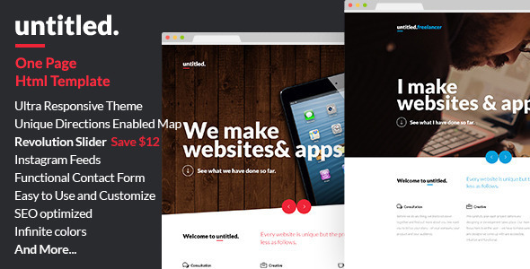 UNTITLED - The Ulitmate Multipurpose Parallax Html Template