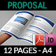 Company Proposal Template - 12 Pages - GraphicRiver Item for Sale