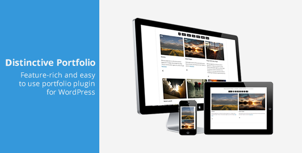 Distinctive Portfolio - 4 in 1 WordPress Portfolio - CodeCanyon Item for Sale