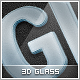3D Premium Glass Styles - GraphicRiver Item for Sale