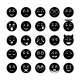 Smiley Faces Icon Collection - GraphicRiver Item for Sale