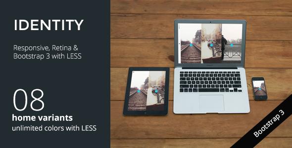 IDENTITY - Responsive Multi-Purpose Portfolio