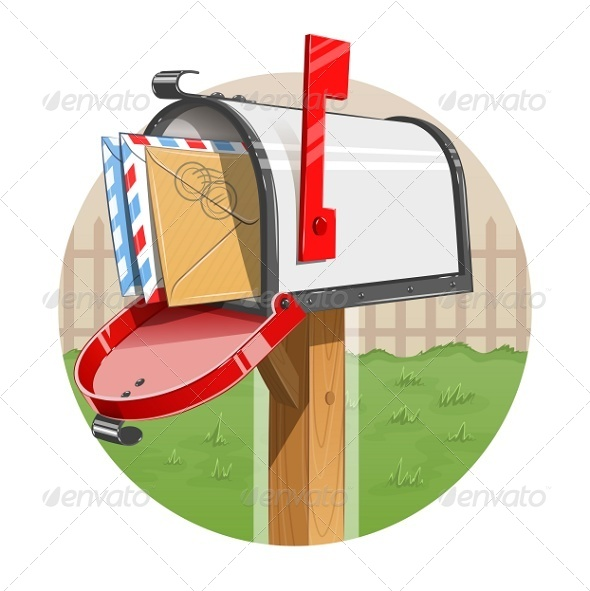 Mail Box with Letters