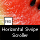 NG Horizontal Swipe Scroller - ActiveDen Item for Sale