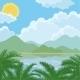 Tropical Sea Summer Landscape - GraphicRiver Item for Sale