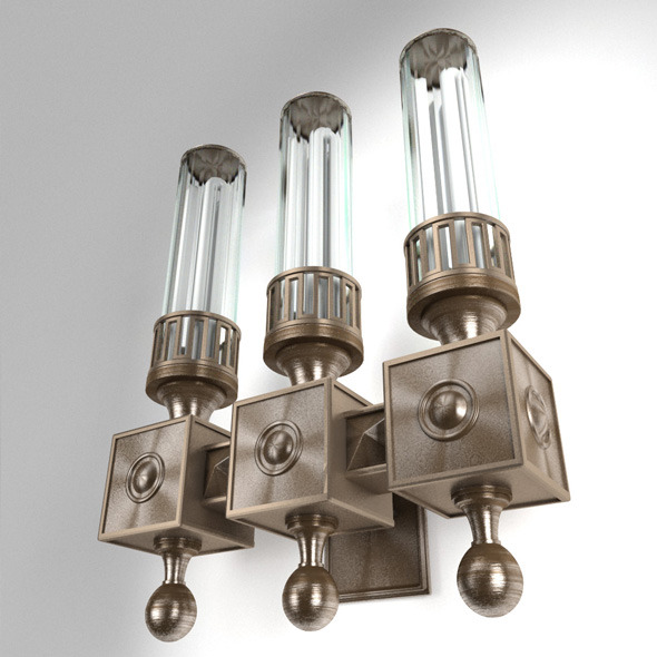 light sconces / for interior and exterior purpose - 3DOcean Item for Sale