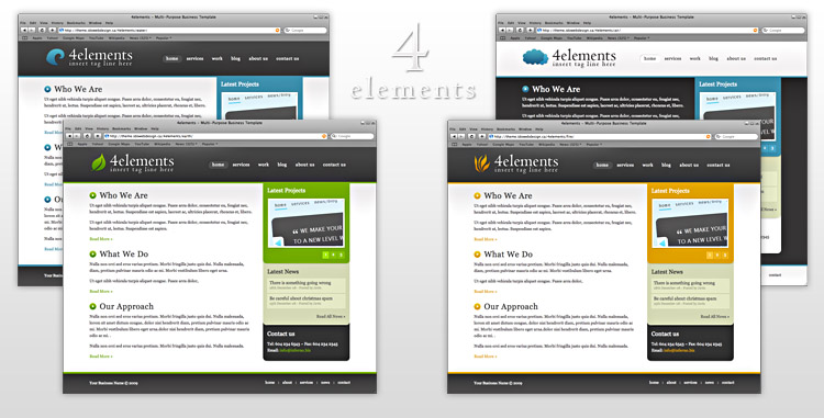4elements - Multi Purpose Business Template