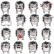 16 Smiley Hedgehogs (2) - GraphicRiver Item for Sale