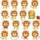 Smiley Lions - GraphicRiver Item for Sale